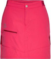 pallas w x-stretch skort kort kjol rosa halti
