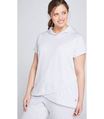 lane bryant women's livi hoodie - french terry 14/16 omphalodes