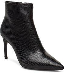 booties 3360 shoes boots ankle boots ankle boot - heel svart billi bi