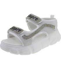 sandalia blanco via franca.