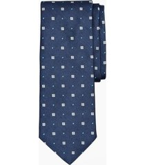 corbata panama neat azul brooks brothers