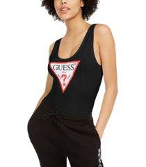 guess classic triangle logo bodysuit