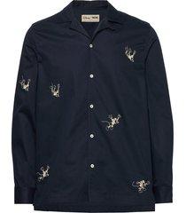 anker shirt skjorta casual blå wood wood
