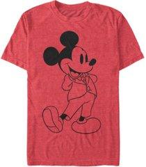 fifth sun men's formal mickey short sleeve t-shirt