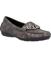 zapato vestir gris hush puppies mujer hp21001112303-199-350