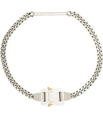 1017 alyx 9sm buckled chain-link necklace - silver