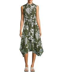 moxie floral print dress