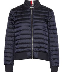 icon stacey down bomber bomberjack blauw tommy hilfiger