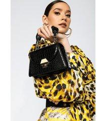 akira scrunchie handle mini purse