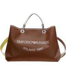 emporio armani open handbags