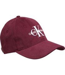 gorra rojo vino calvin klein