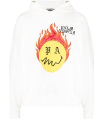 palm angels burning head hoodie