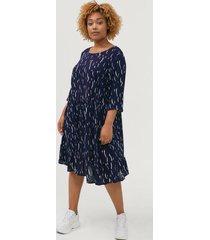 klänning vamone 3/4 blk dress