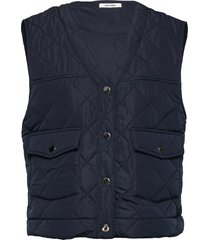 gianna waist coat vests padded vests blauw nué notes