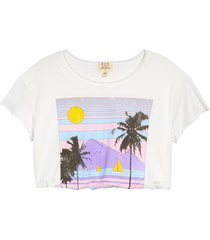 women's project social t beach front crop graphic tee
