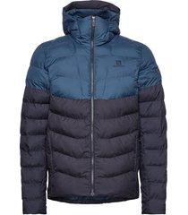 sight storm hoodie m outerwear sport jackets blauw salomon