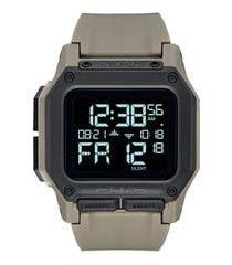 nixon regulus digital watch, 46mm in sand/black/sand at nordstrom