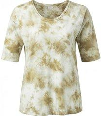 t-shirt cotton blend groen