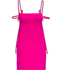 dsquared2 crepe dress with thin straps