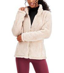 32 degrees fleece stand-collar jacket