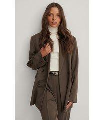 na-kd classic blazer - brown