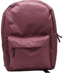 mochila notebook casual style rosa brando