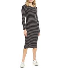 women's splendid kinsley stripe body-con dress