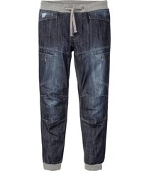 jeans con bordi a costine regular fit straight (blu) - rainbow