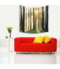 150cm x 130cm hada del bosque pared de colgante de la tapicería de bohemia hippie banda colcha decoración - 4