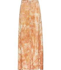 lava skirt lång kjol orange rabens sal r
