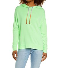 women's sundry hoodie, size 0 - green
