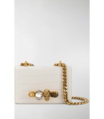 alexander mcqueen mini jewelled crossbody bag