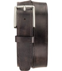 men's trask keystone leather belt