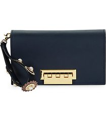earthette leather clutch