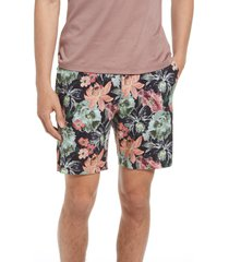 good man brand flex pro jersey tulum shorts, size x-large in charcoal miami magnolia at nordstrom