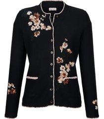 vest alba moda marine::roze::wit