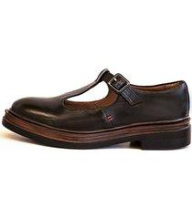 zapato mary jane negro