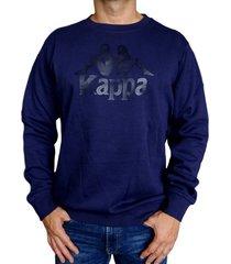 sueter kappa authentic eslogari - azul