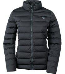 chaqueta pluma mujer amorak negro