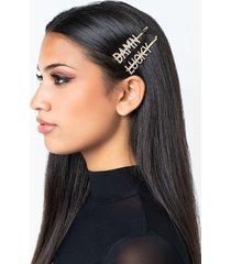 akira damn lucky hair clip set