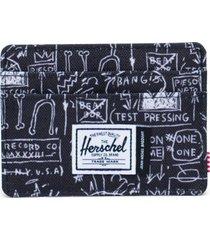 men's herschel supply co. charlie basquiat card case -