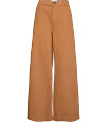 kersee french jeans antique colour wijde broek bruin tomorrow