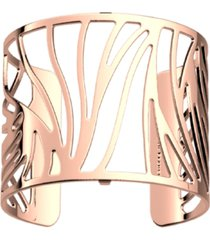 perroquet les georgettes by altesse wavy openwork wide adjustable cuff bracelet, 40mm, 1.6in