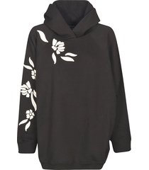 ermanno scervino embroidered hoodie