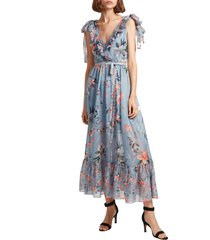 women's french connection cecile floral print maxi dress