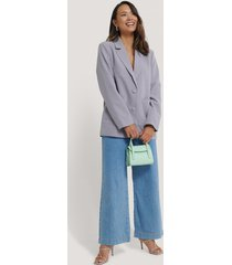 na-kd trend big pocket blazer - blue