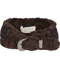 ca4la brown woven headband
