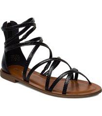 kabanna shoes summer shoes flat sandals svart aldo