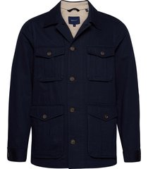d1. the casual field jacket dun jack blauw gant