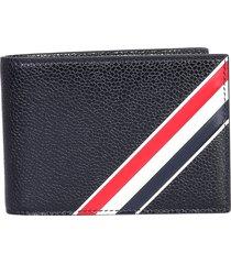 thom browne designer men's bags, wallet with logo